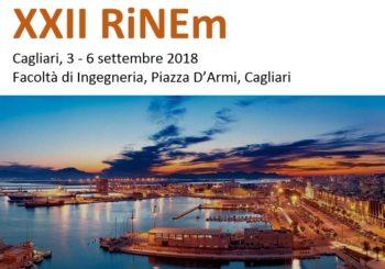 XXII RiNEm   Riunione Nazionale di Elettromagnetismo,  3- 6 settembre 2018, Facoltà di Ingegneria, Piazza D'Armi, Cagliari